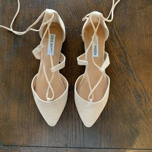 Steve Madden Lace-up pointed toe flats
